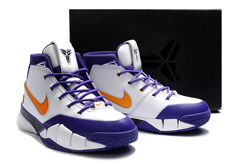 2018 nike kobe 1 protro final seconds white del sol varsity purple for sale