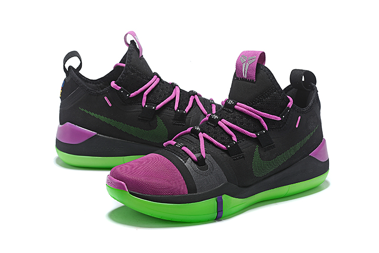 2018 nike kobe ad black purple green cheap sale