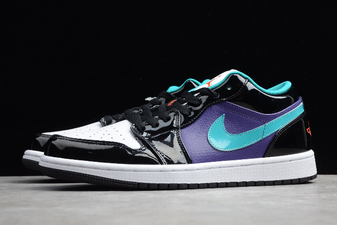 2020 air jordan 1 low black turbo green for sale