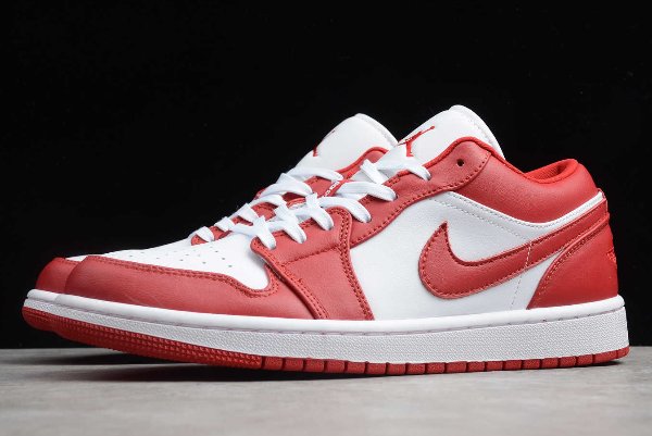 2020 air jordan 1 low gym red white for sale