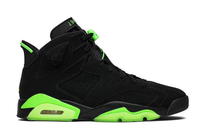 2021 newest air jordan 6 electric green for sale