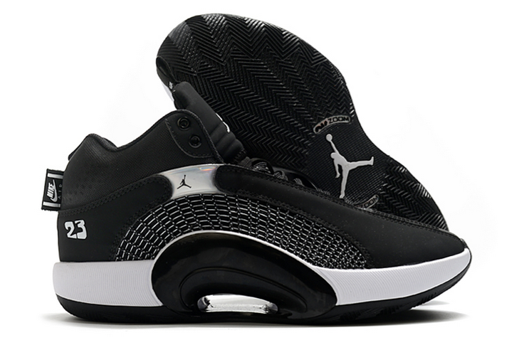 air jordan 35 black white basketball shoes outlet online