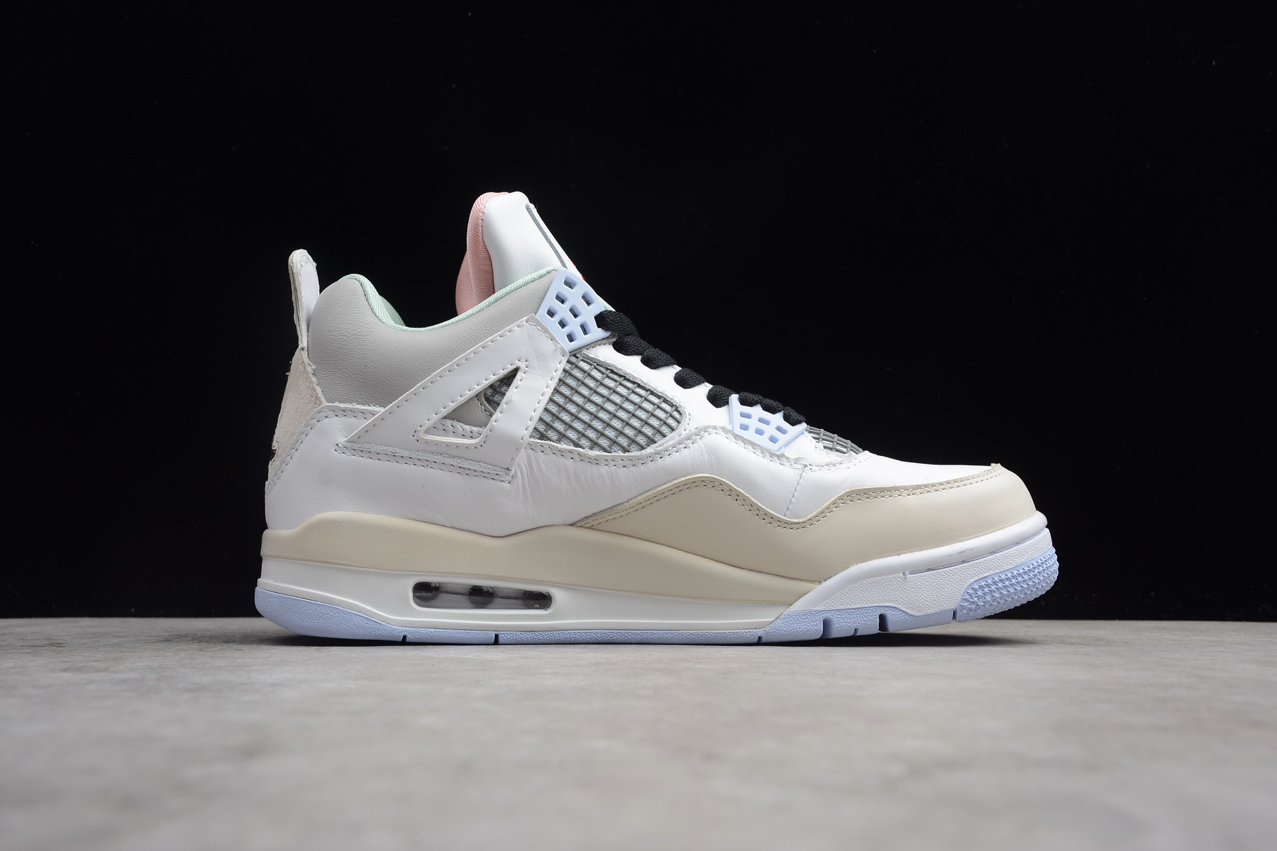 buy off white x air jordan 4 encore han yubai light beige grey