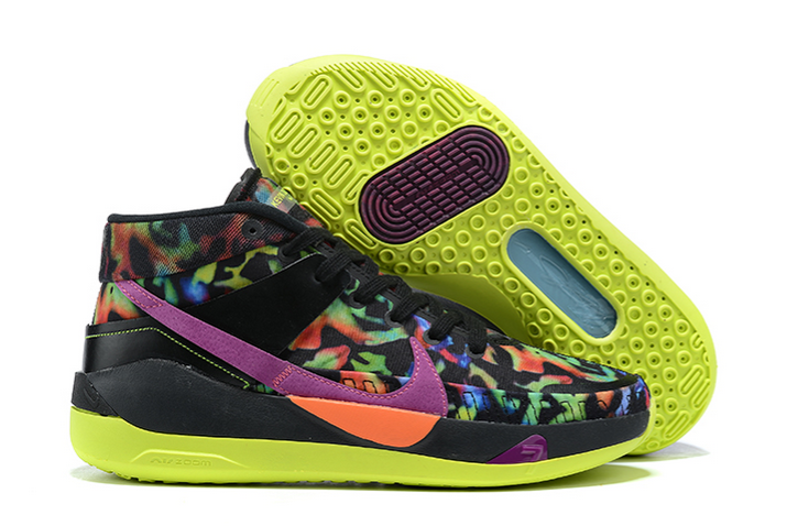 mens nike kd 13 eybl multi color basketball shoes