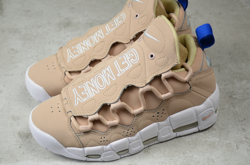nike air more money particle beige white ao1749 200 for sale