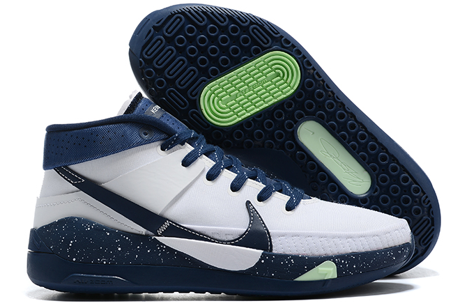 nike kd 13 white navy blue green to buy