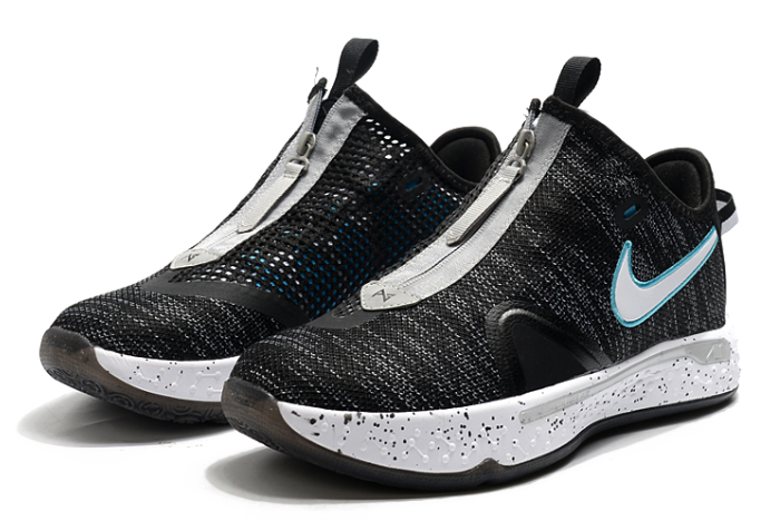 nike pg 4 heather black blue fury for sale