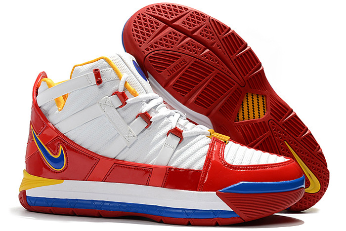 nike zoom lebron 3 sb superbron white varsity red