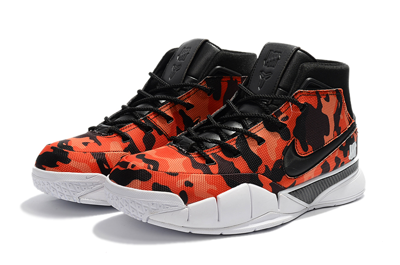undefeated x nike zoom kobe 1 protro red camo by devin booker for sale