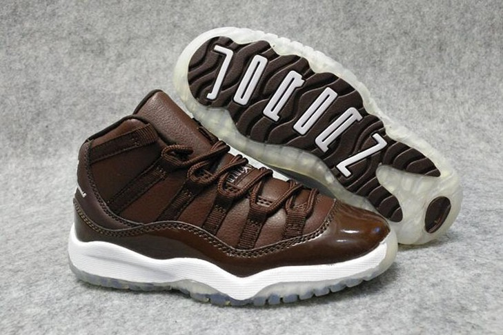 "Kids Air Jordan 11 ""Chocolate"" Shoes"