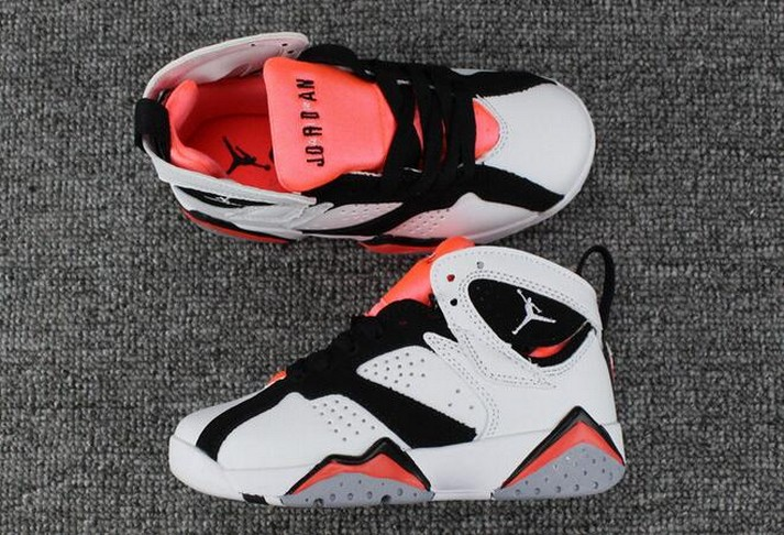 "2018 Kids Air Jordan 7 ""Hot Lava"" Shoes"