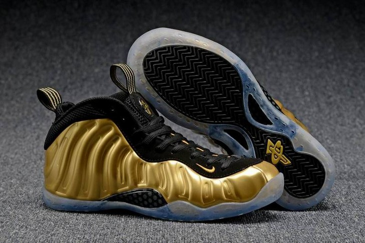 "2018 Nike Air Foamposite One ""Metallic Gold"" Shoes"