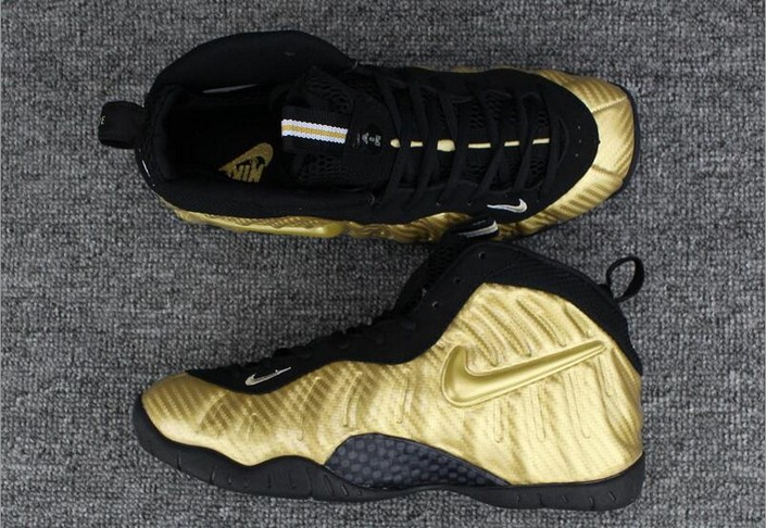 "Nike Air Foamposite Pro ""Metallic Gold"" Shoes"