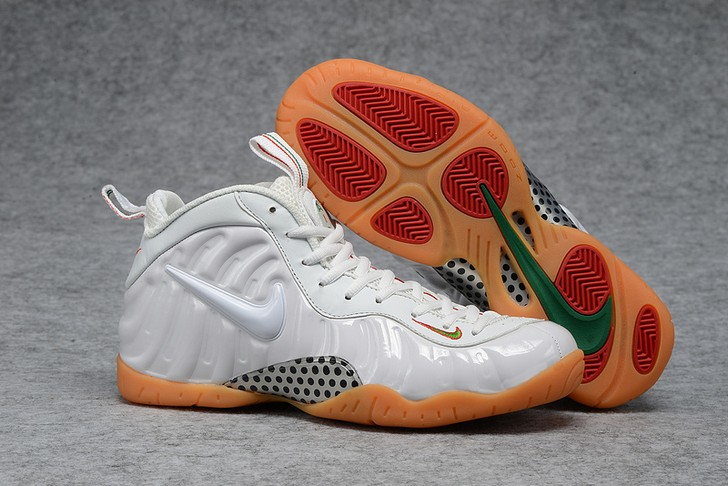 "2018 Nike Air Foamposite Pro ""White Gum"" Shoes"
