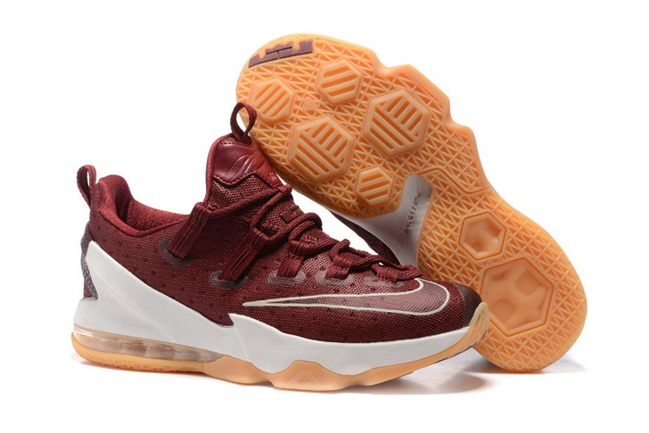 "2018 Nike LeBron 13 Low ""Cavs"" Basketball Shoes"