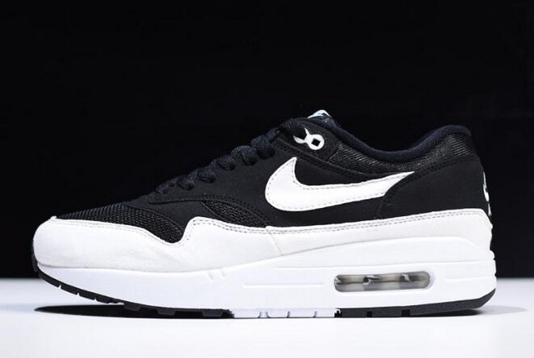 2018 New Releases Nike Air Max 1 Black and White 319986-034 Shoes