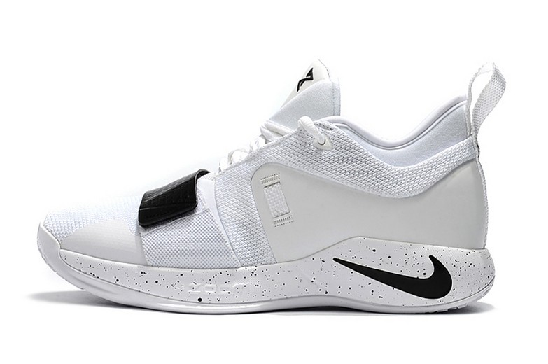 2018 Mens Nike PG 2.5 White Black Basketball Shoes