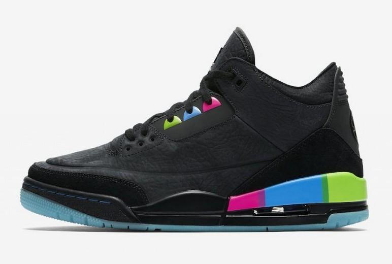 Womens Air Jordan 3 GS Shoes
