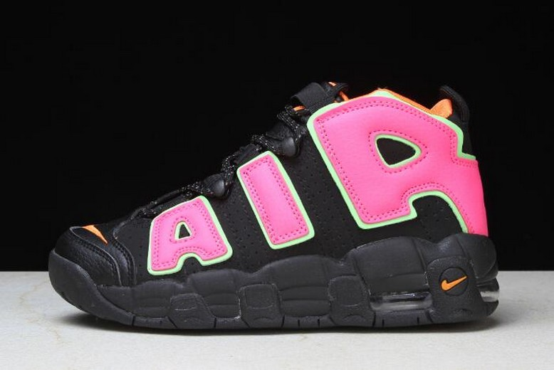 "2018 Nike Air More Uptempo ""Hot Punch"" 917593-002 Womens Shoes"