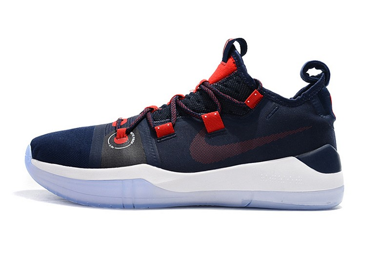 2018 Nike Kobe AD Navy Blue Red White Basketball Shoes