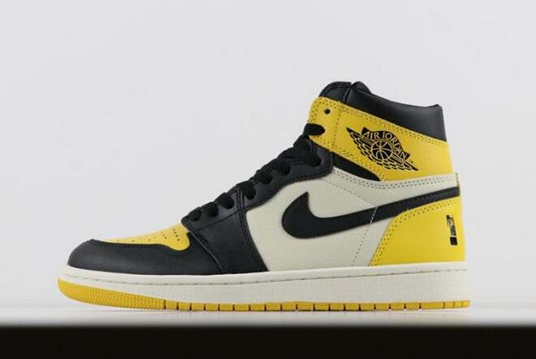 "2018 Shinedown x Air Jordan 1 Retro High OG ""Attention Attention"" PE Mens Shoes"