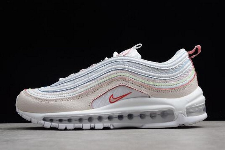 "2018 Women Nike Air Max 97 SE ""Rainbow"" AQ4137-100 Shoes"