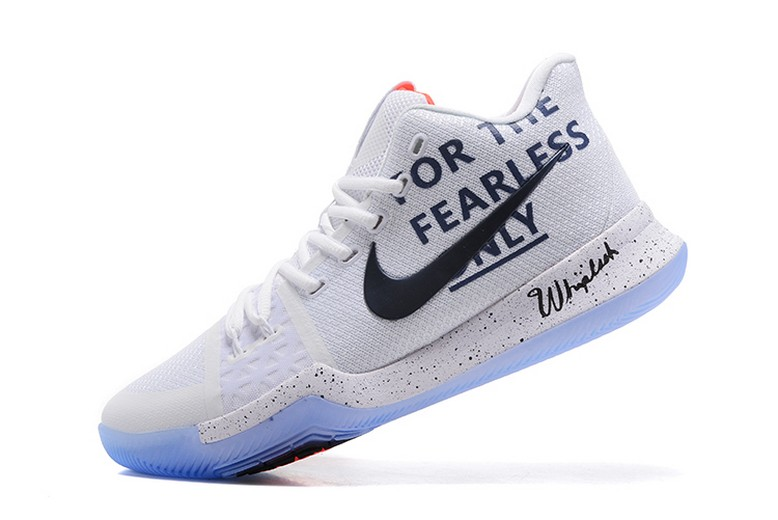 "Mens Nike Kyrie 3 ""For The Fearless Only"" Basketball Shoes"