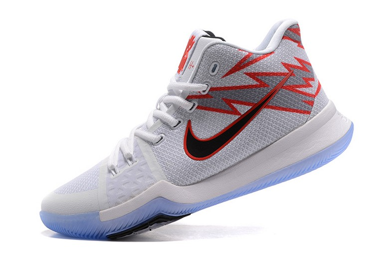 "Mens Nike Kyrie 3 ""Greased Lightning"" PE Basketball Shoes"