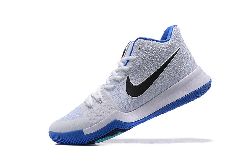 "Mens Nike Kyrie 3 ""Hyper Cobalt"" White Chlorine Blue Volt 852395-102 Basketball Shoes"