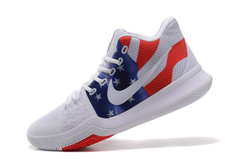 "Mens Nike Kyrie Irving 3 (III) ""Stars And Stripes"" Basketball Shoes"