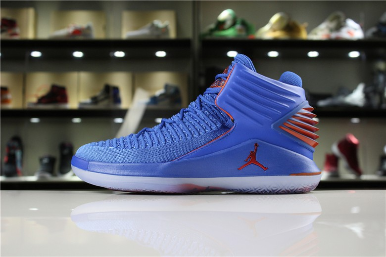 "Mens Air Jordan 32 XXXII ""Russell Westbrook"" Why Not In OKC Colors"
