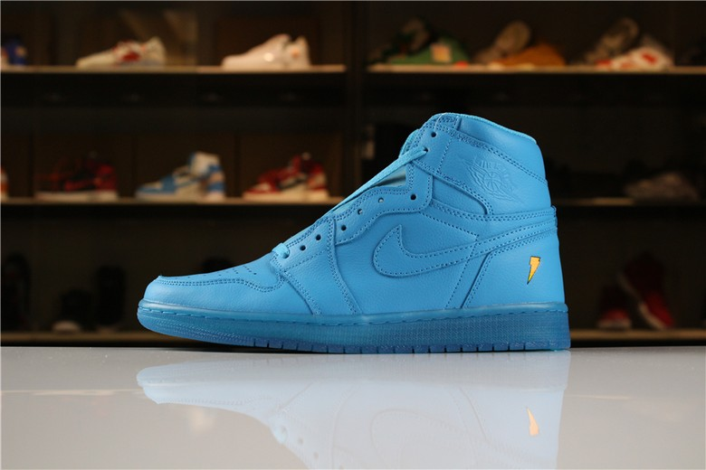 "New Air Jordan 1 Retro High OG Gatorade ""Blue Lagoon"" AJ5997-455"
