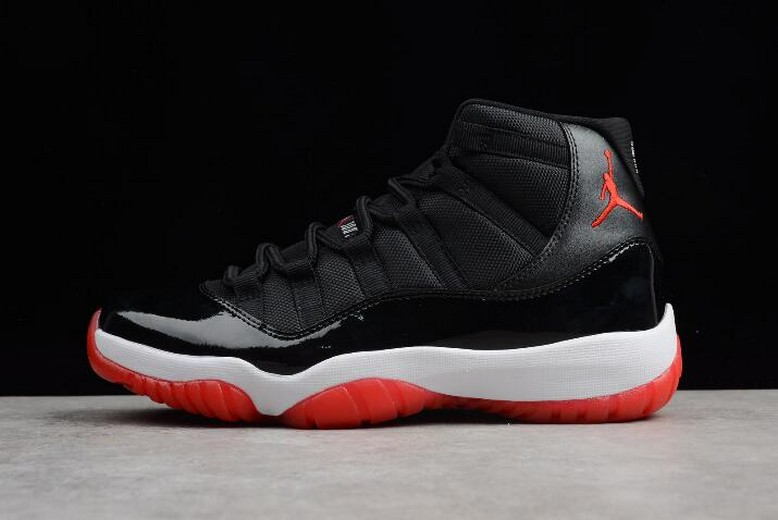 "Air Jordan 11 Retro ""Bred"" Black Varsity Red White 378037-010"