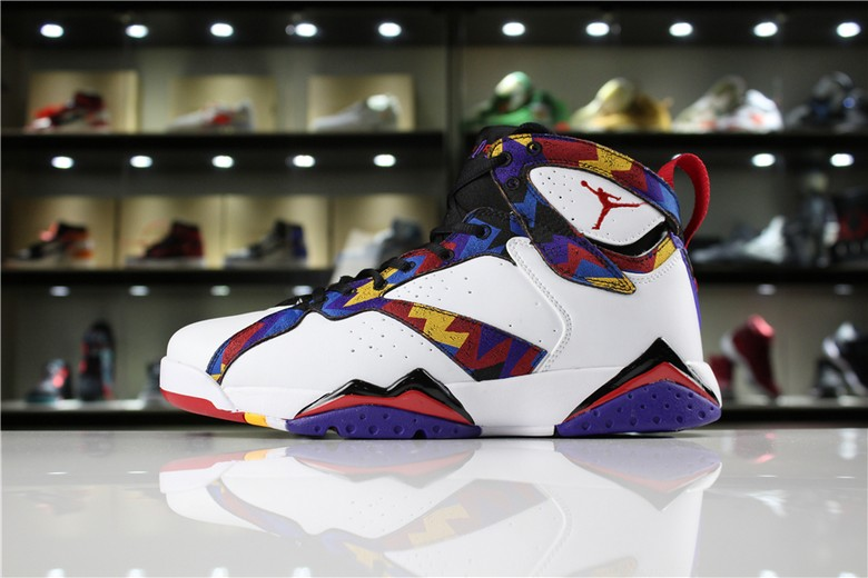 Womens Air Jordan 7 GS Shoes