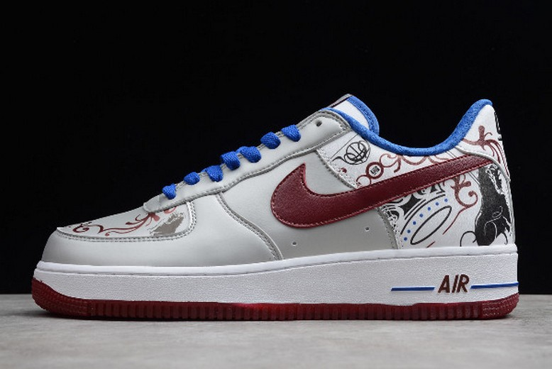 "2019 Nike Air Force 1 Premium (Lebron) ""Collection Royale"" 313985-061 Shoes"