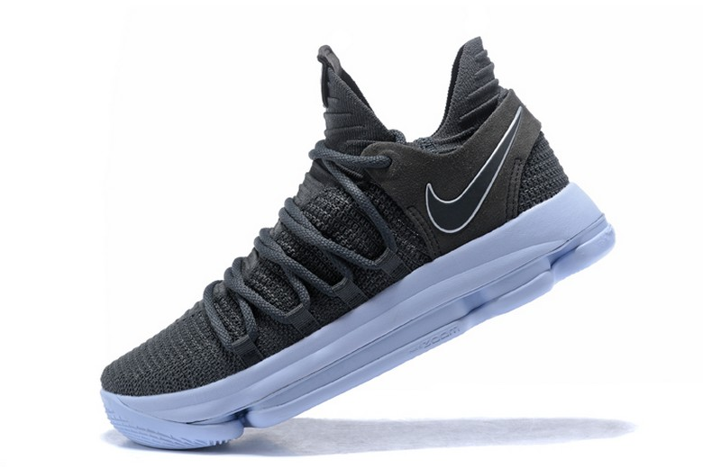 Nike KD 10 Dark Grey Reflective Silver 897815-005 Mens Basketball Shoes