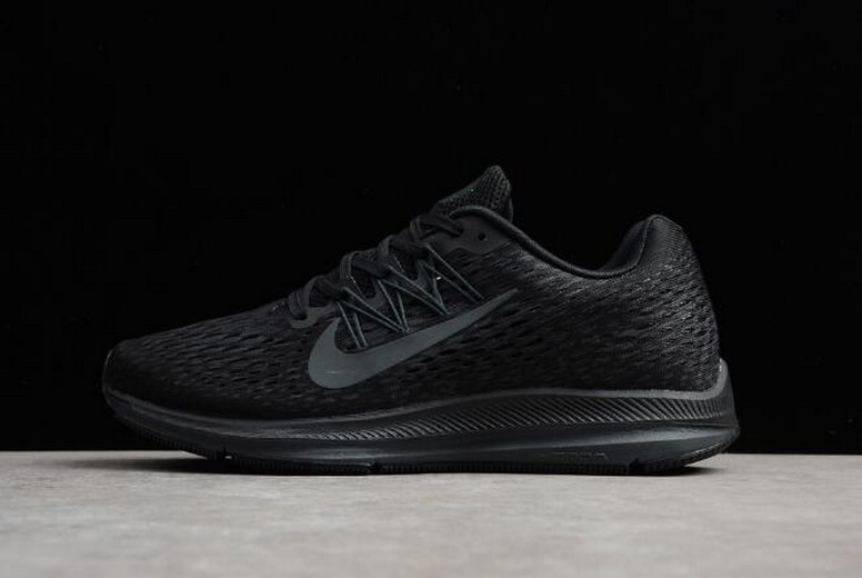 Nike Zoom Winflo 5 Black Anthracite AA7406-002 Running Shoes