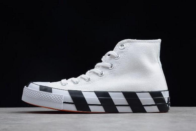 Off White x Converse 2.0 White Black 163892C Shoes