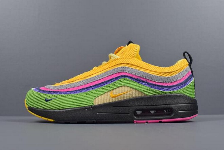 "Sean Wotherspoon's Nike Air Max 1 / 97 VF SW ""Eclipse"" Custom AJ4219-407 Shoes"