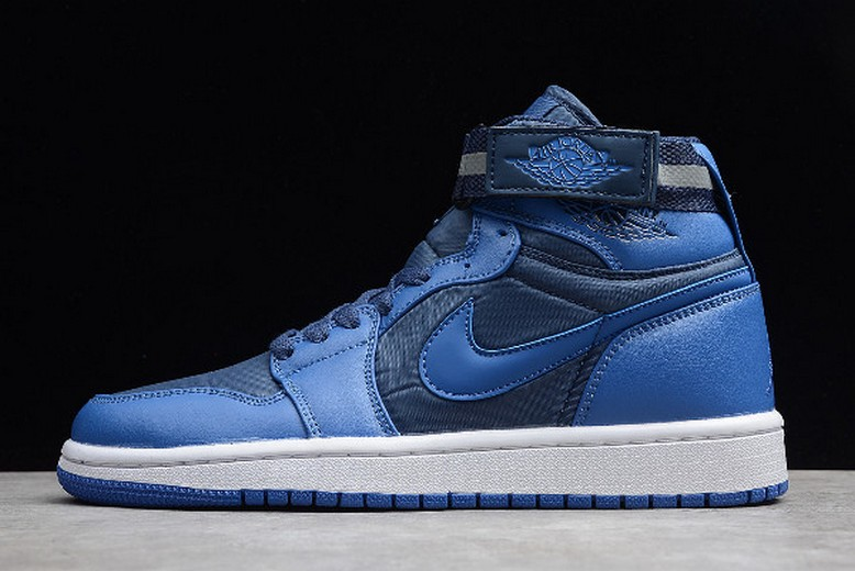 Air Jordan 1 Retro High Strap French Blue University Blue White 342132-407 Shoes