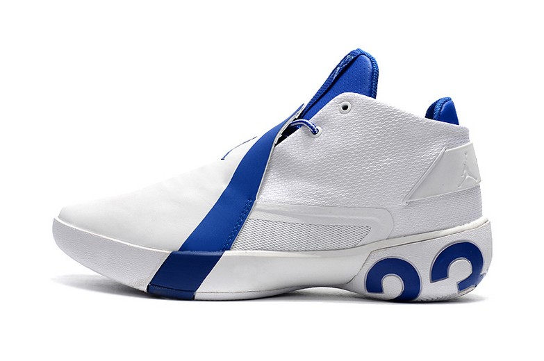 Air Jordan Ultra Fly 3 White Royal Blue Basketball Shoes