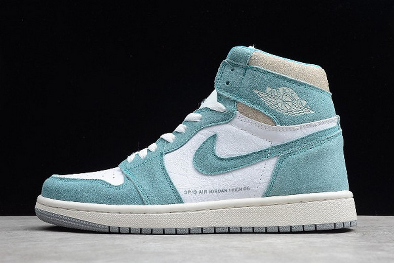 "Mens Air Jordan 1 (I) Retro High OG ""Turbo Green"" 555088-311 Shoes"