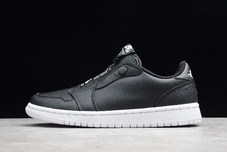 Air Jordan 1 Retro Low Slip Black White AV3918-001 Shoes