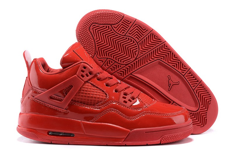"Air Jordan 4 ""11lab4"" University Red 719864-600 Basketball Shoes"