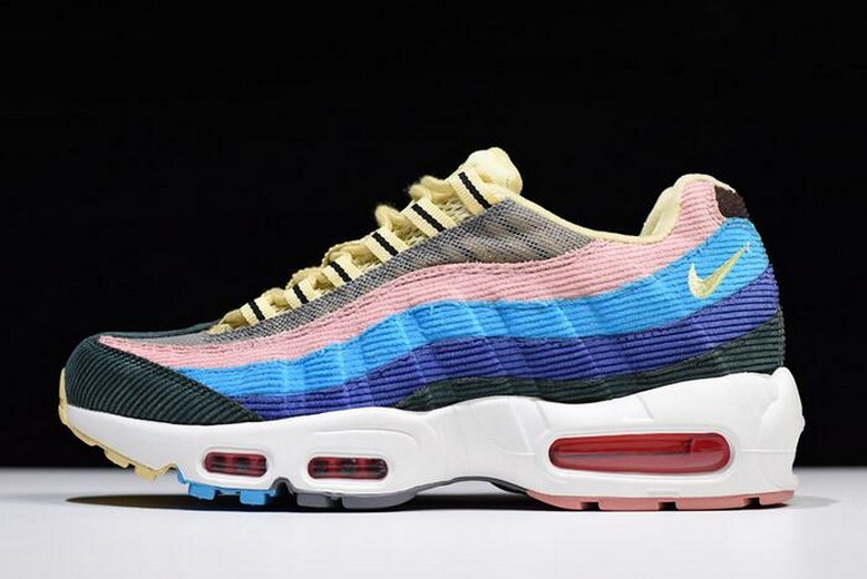 "Nike Air Max 97 / 95 VF SW ""Sean Wotherspoon"" Multi AJ4219-400 Shoes"