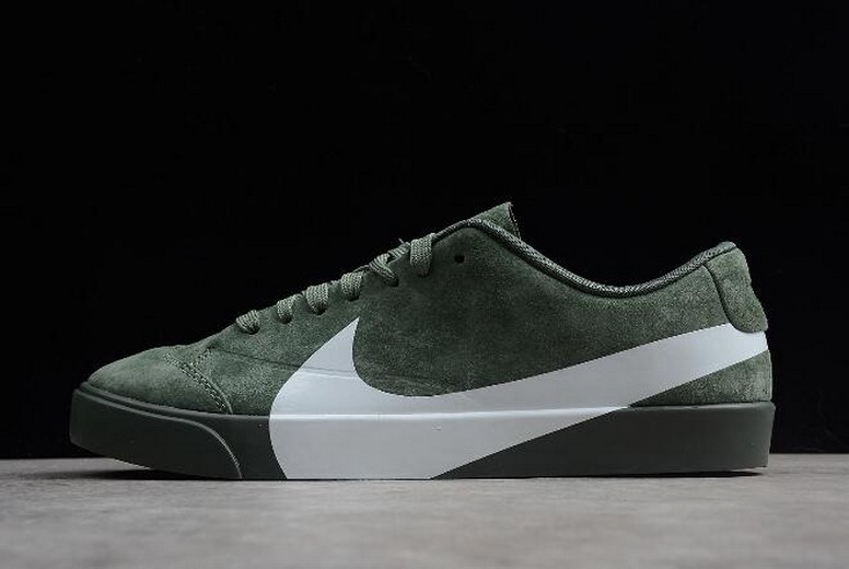 "Nike Blazer City Low XS ""Clay Green"" AV2253-300 Shoes"