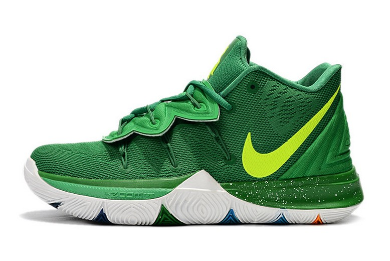 Nike Kyrie 5 Green Volt White Basketball Shoes