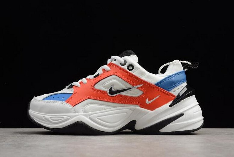 Nike M2K Tekno Summit White Black Team Orange AO3108-101 Shoes