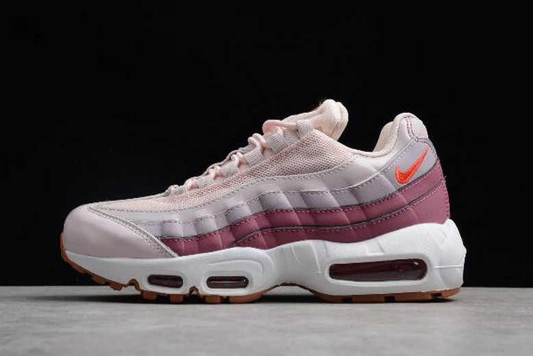 Womens Nike Air Max 95 Barely Rose Hot Punch 307960-603 Shoes
