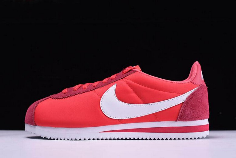 Nike Classic Cortez Nylon Gym Red White 488291-603 Shoes